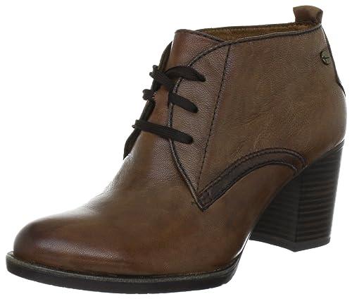 Tamaris TAMARIS 1-1-25129-29 - Botines clásicos de cuero para mujer, color marrón, talla 36: Amazon.es: Zapatos y complementos