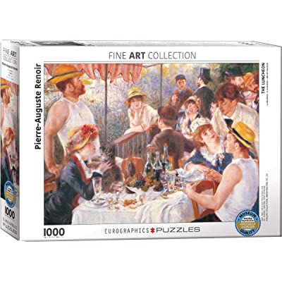 EuroGraphics Luncheon of the Boating Part by Pierre Auguste Renoir 1000 Piece Puzzle: Toys & Games