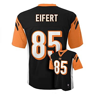 2cd5f8e85d9 Tyler Eifert Cinncinati Bengals Black NFL Youth Home Mid Tier Jersey (Small  8)