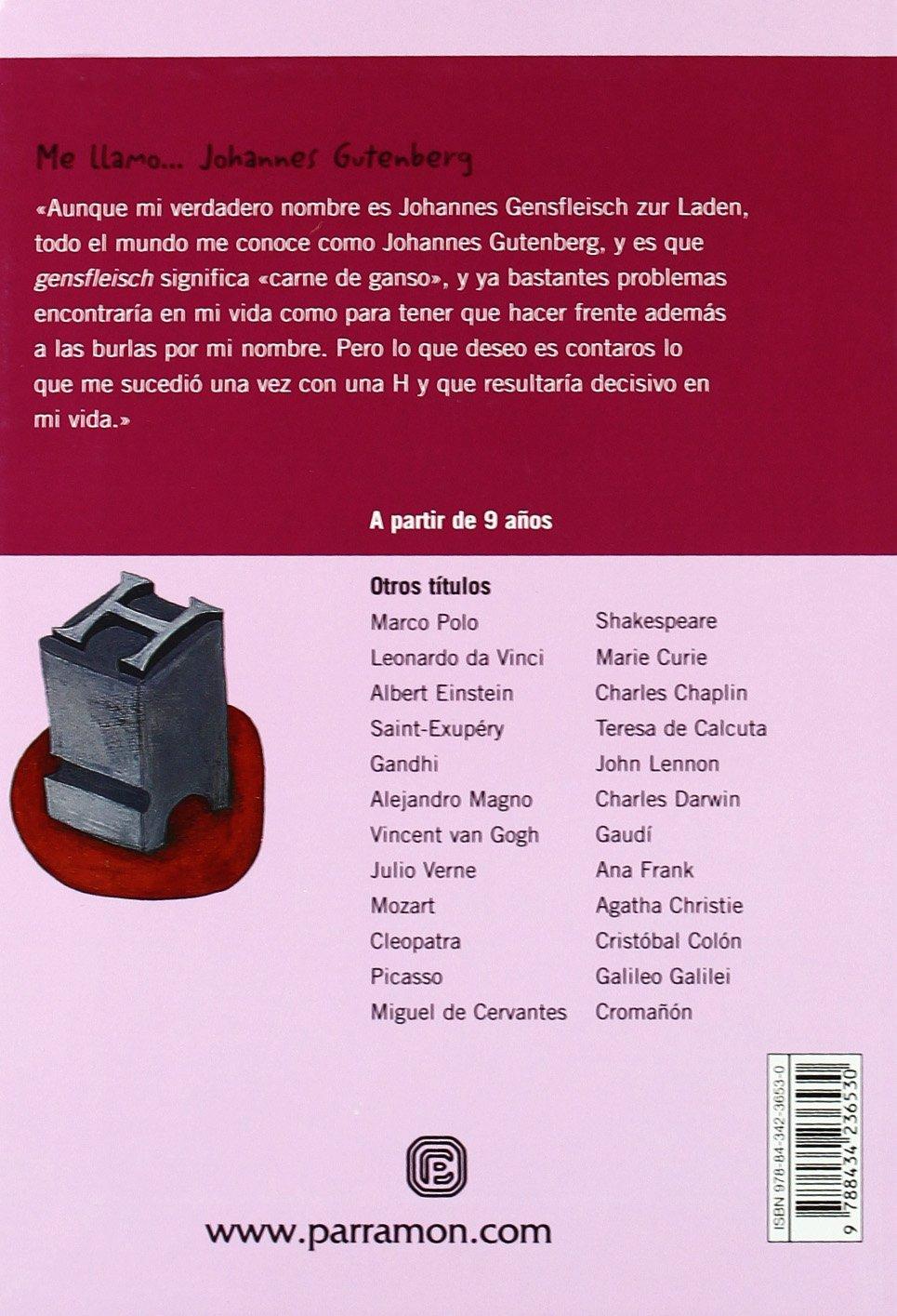 ME LLAMO JOHANNES GUTENBERG: Amazon.es: Borràs, Lluís, Carabelli ...