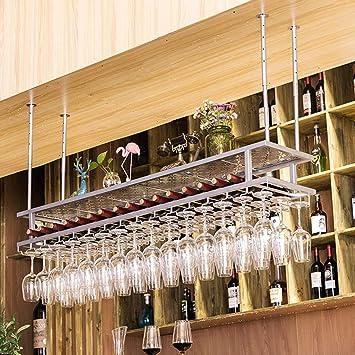 Artículos y equipo de servicio para la restauración Moda Creativa Escritorio Arte de Hierro Bandeja de Vino Estante de Vino para el Hogar Estante de Vino Estante para Vino Soporte de Copas de Vino Estante de la Copa de Vino Estante de Vidrio para Vino Utensilios de bar