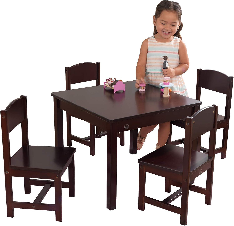 Amazon Com Kidkraft Farmhouse Table And Chair Set Toys Games