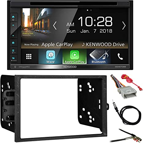 GMC Chevy Cadillac Kenwood Car Radio Stereo Bluetooth Dash Kit Harness For 95
