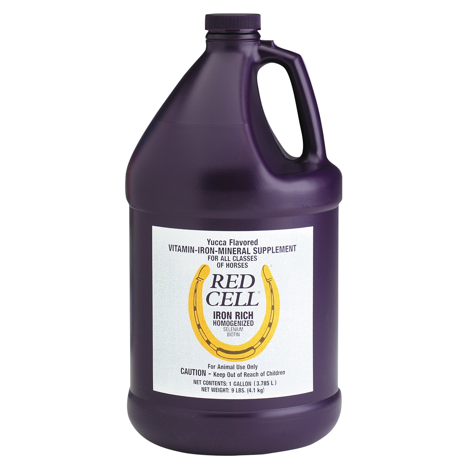 Horse Health Red Cell Iron-Rich Vitamin & Mineral Supplement for Horse, 1 gallon