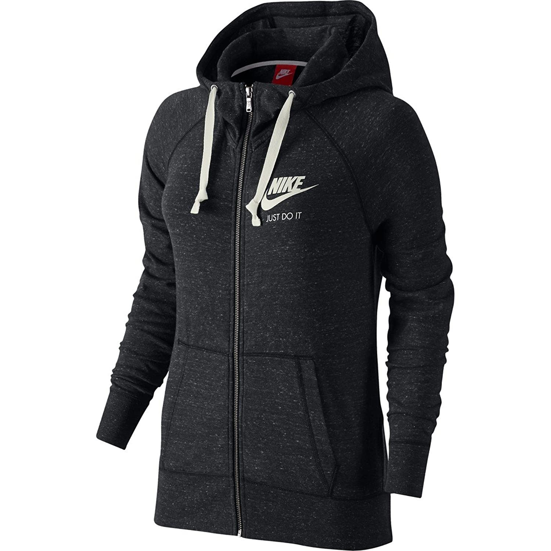 Nike Women's Gym Vintage Full Zip Front Hoodie at Amazon Women's ...
