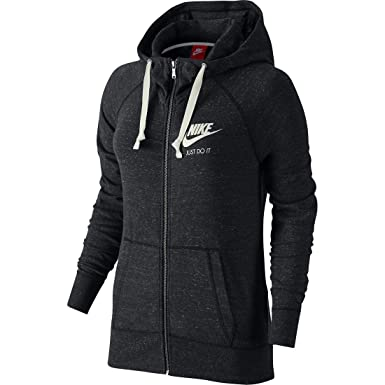 Nike Women's Gym Vintage Full Zip Hoodie at Amazon Women's ...