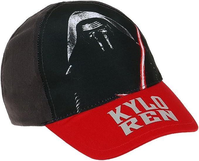 Gorra para niño, diseño de Star Wars Kylo Ren, color negro, rojo ...