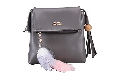 a504e2ed141 Aizah s Latest Sling Bag for Women (GREY)  Amazon.in  Shoes   Handbags