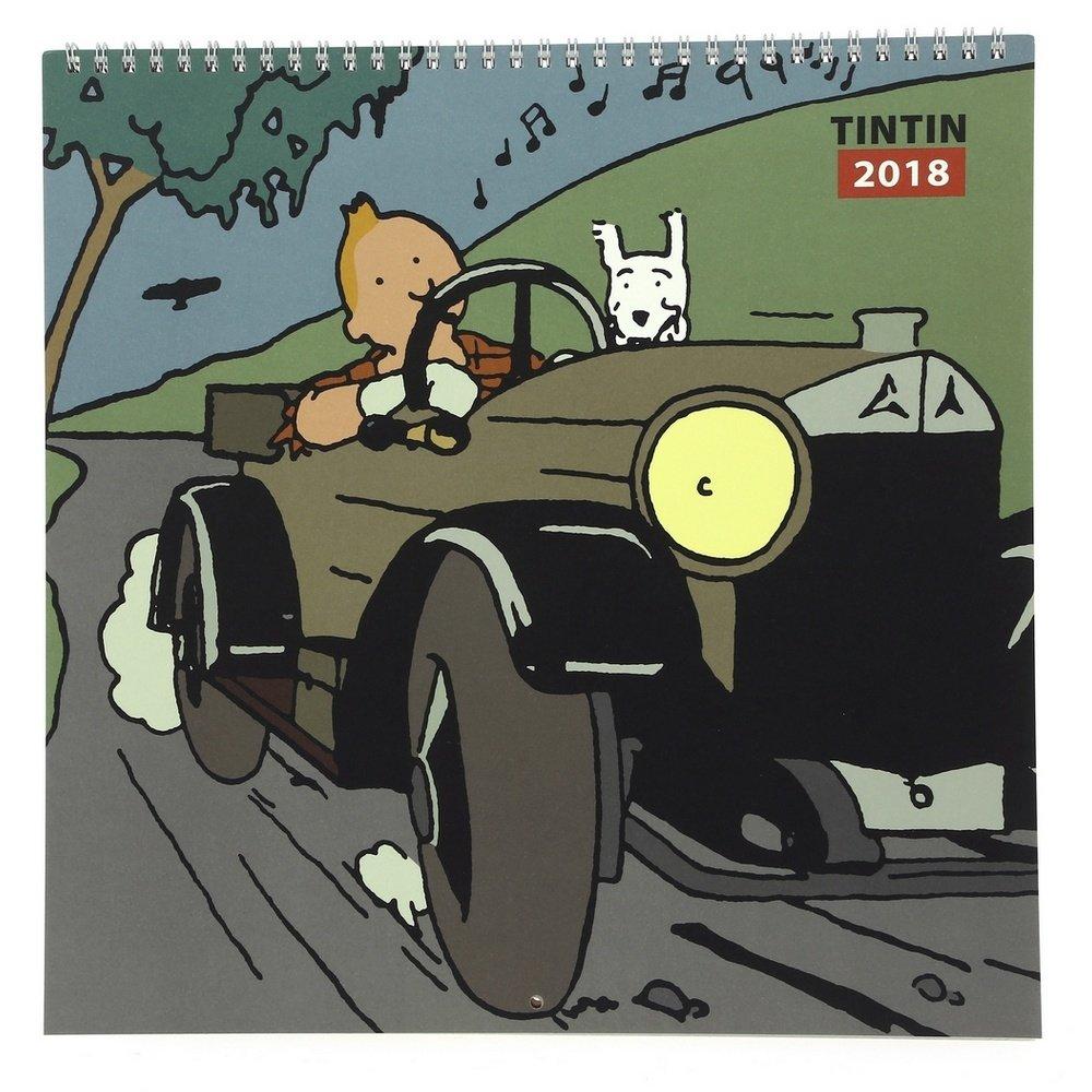 24359 Calendrier 2018 de Tintin au pays des Soviets 30x30cm