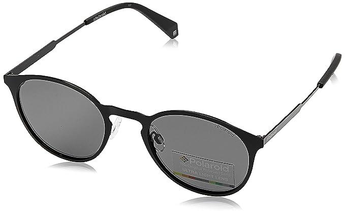 Polaroid Damen Sonnenbrille » PLD 4058/S«, schwarz, 807/M9 - schwarz/grau