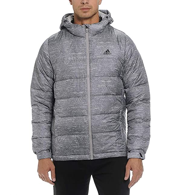 Grey Adidas Giacca Uomo 2xl Manica it Amazon Piumino Lunga XpXxFd