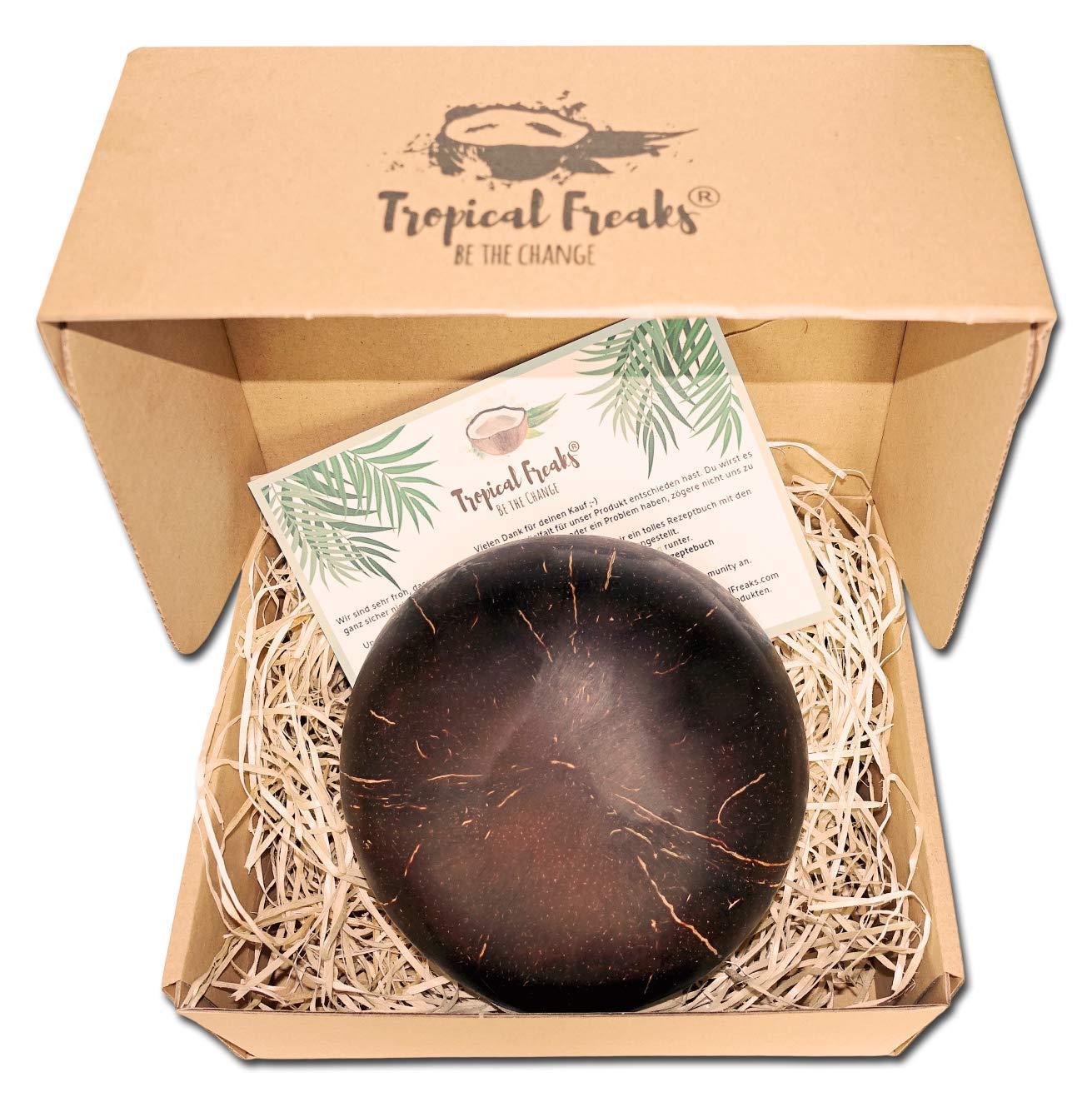 100/% Naturel Bol /à muesli Naturel Coconut Bowl Tropical Freaks/® Bol en Noix de Coco Bouddha Bowl