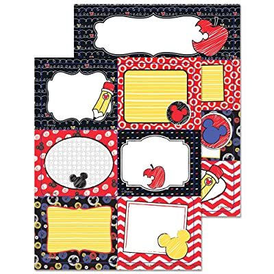 Eureka Mickey Color Pop! Stickers, Label (656146): Office Products