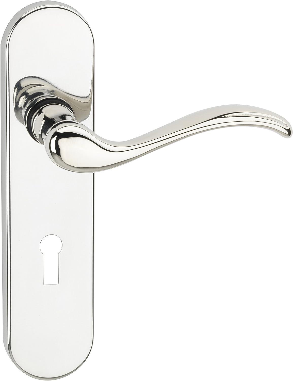Urfic Geneva Lock Polished Brass