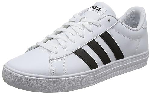 best loved d9cbb 843e8 adidas Herren Daily 2.0 Fitnessschuhe Weiß (Ftwbla Negbas 000), 40 23