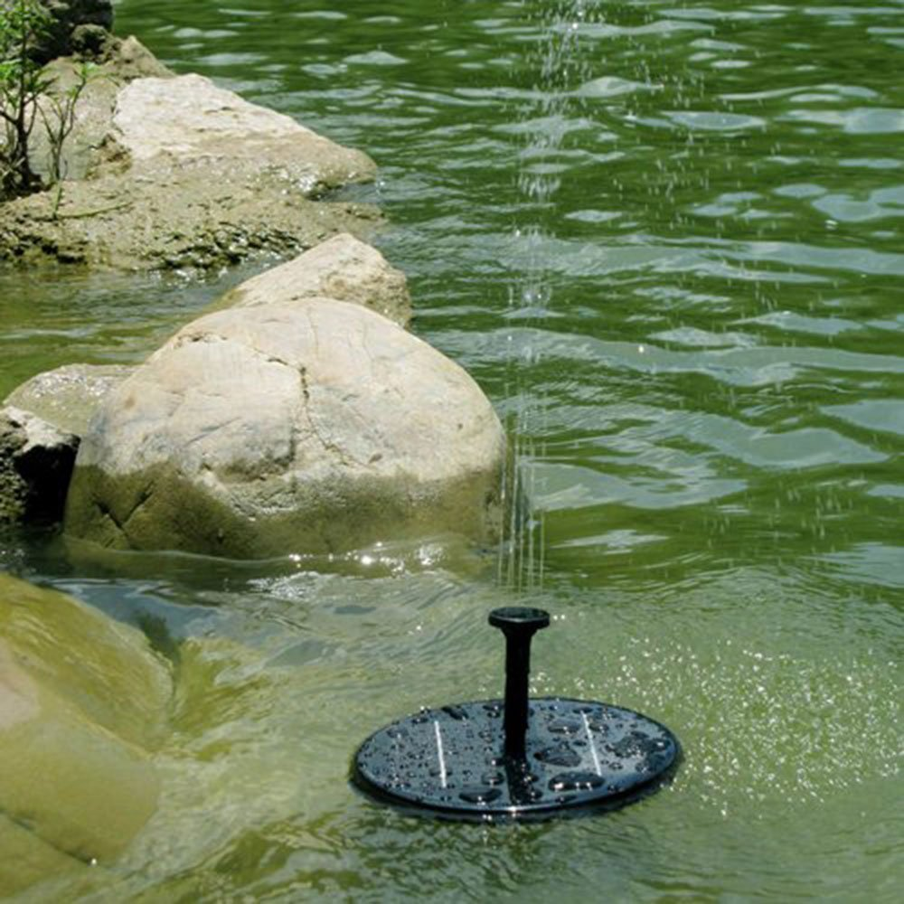 Solar Powered Water Pump Garden Fountain Pond Feature for Waterfall Water Display