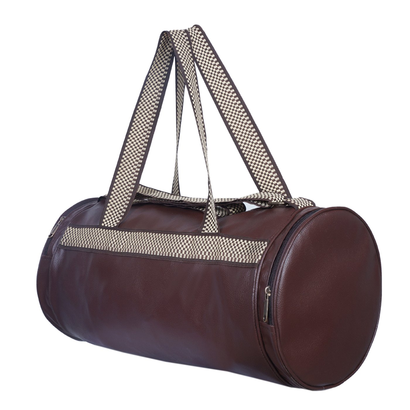 e91448decbf415 Dee Mannequin Retro Leather Rite Duffel Gym Bag: Amazon.in: Sports, Fitness  & Outdoors