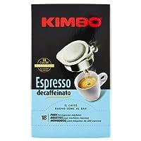 Kimbo Espresso Decaffeinato - 3 confezioni da 18 Cialde [54 Cialde]