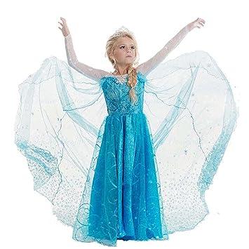 Princesa Frozen- Traje de niñas / Snow Princess Glitter ...