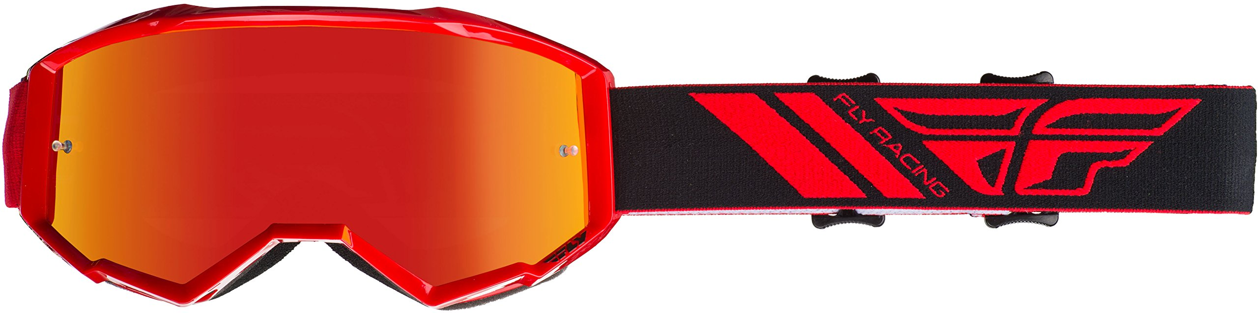 Fly Racing 2020 Zone Goggles (RED/RED Mirror Lens)