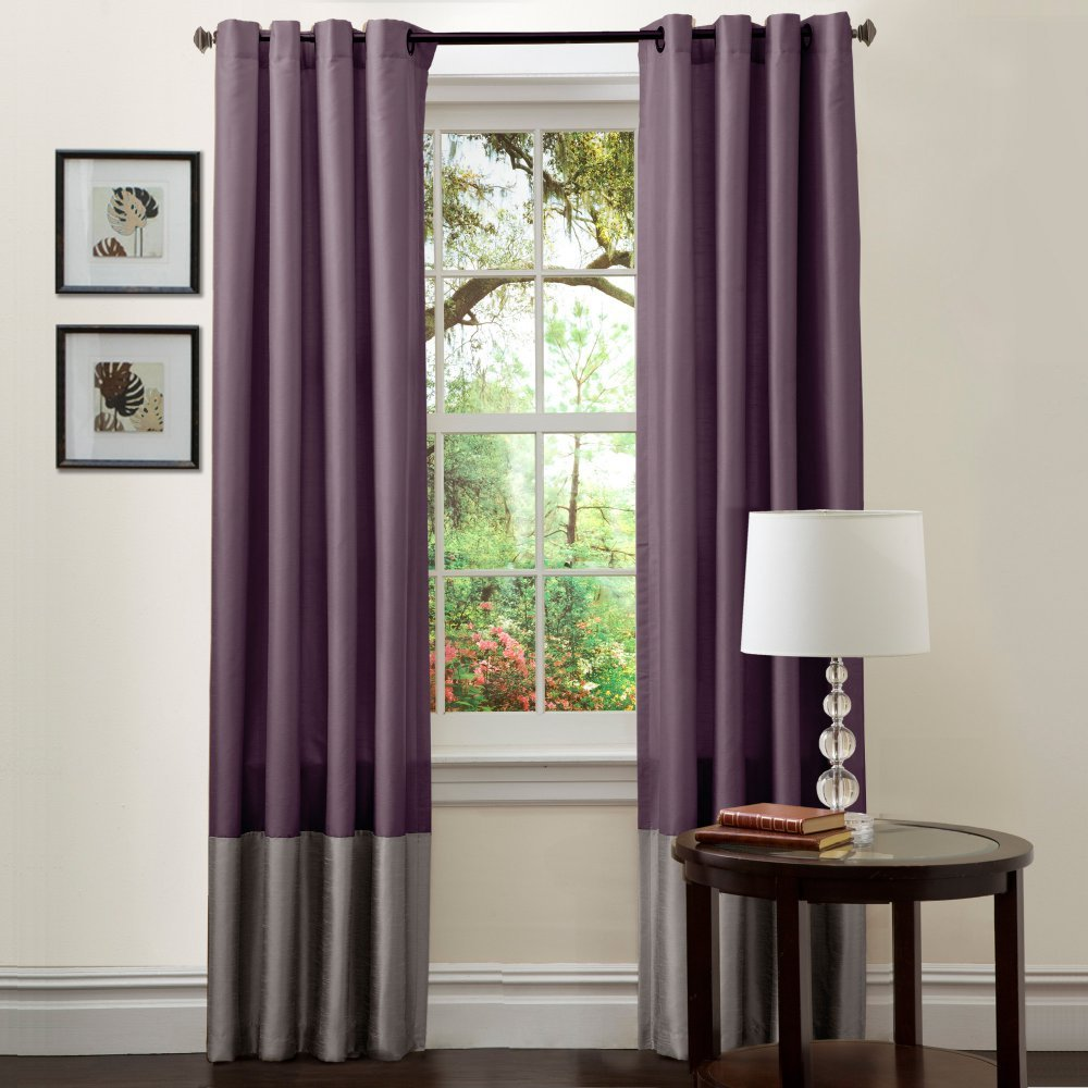Lush Decor Prima Window Curtains - One Pair