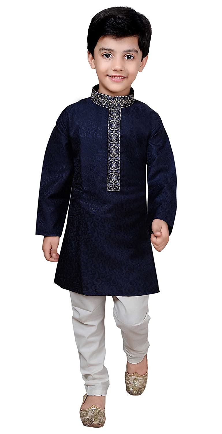 Desi Sarees Boys Sherwani Kurta Pajama Bollywood Fashion Party Wear 932 Boys Kurta Pyjama Set