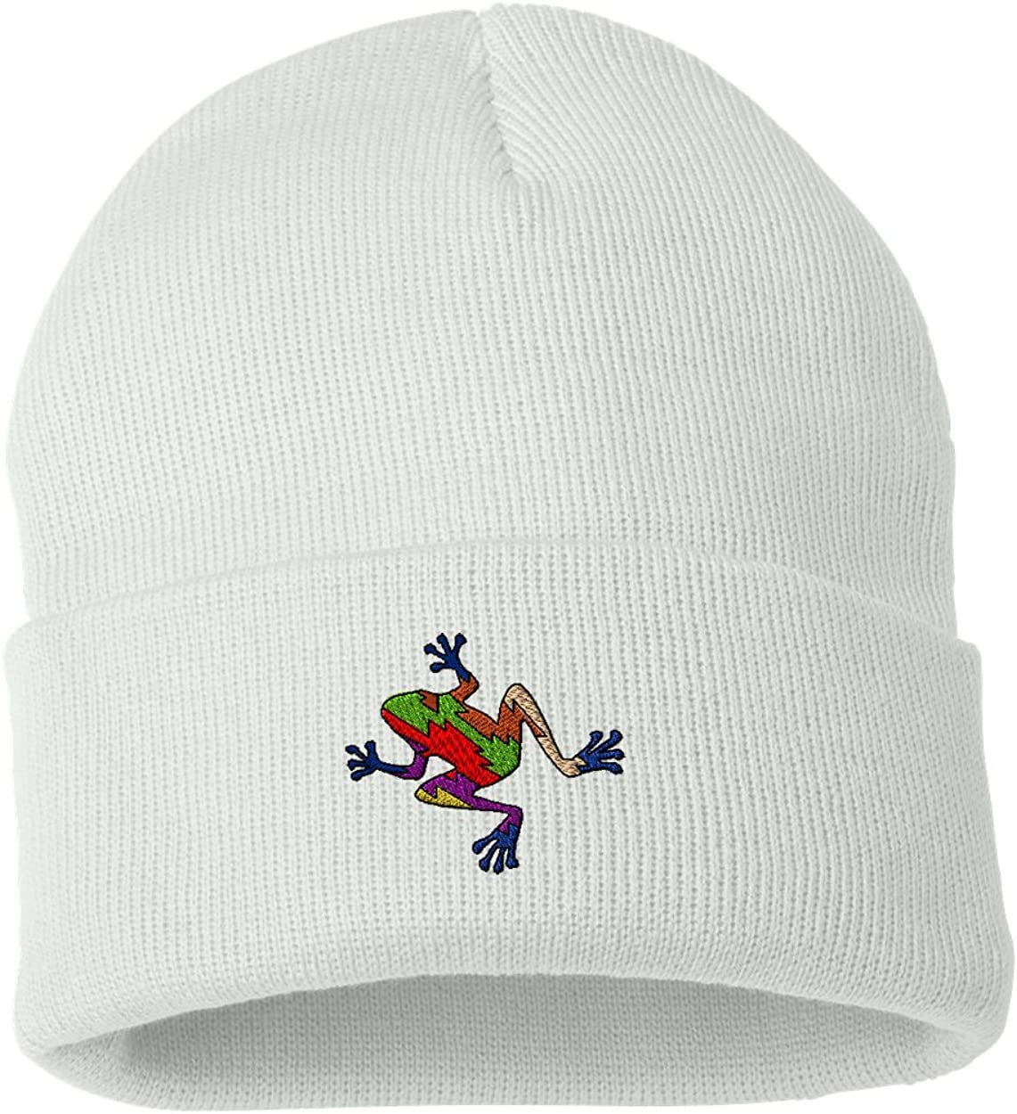 Frog/ Custom Personalized Embroidery Embroidered Beanie