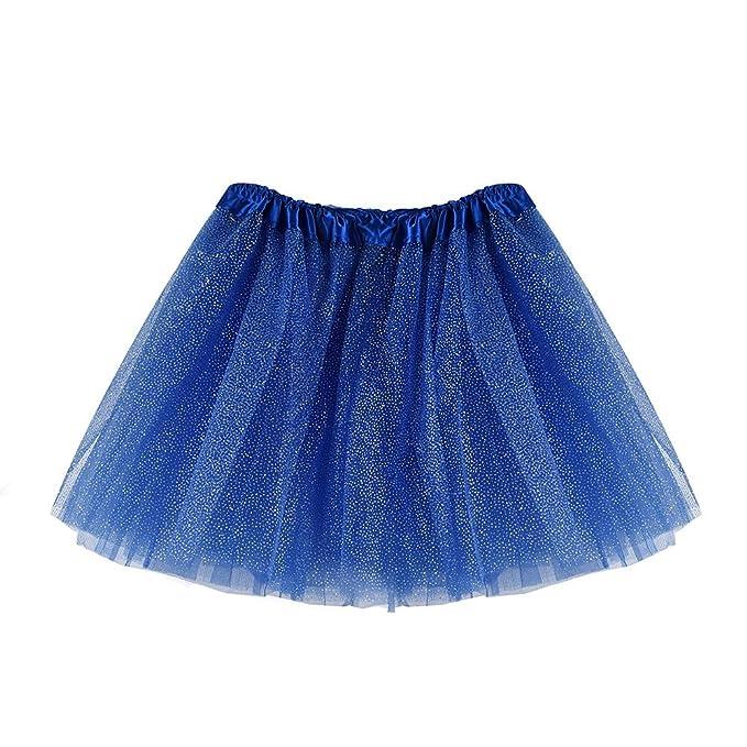 Xmiral Brillante Falda de Ballet Niñas, para Danza Tul con Capas ...