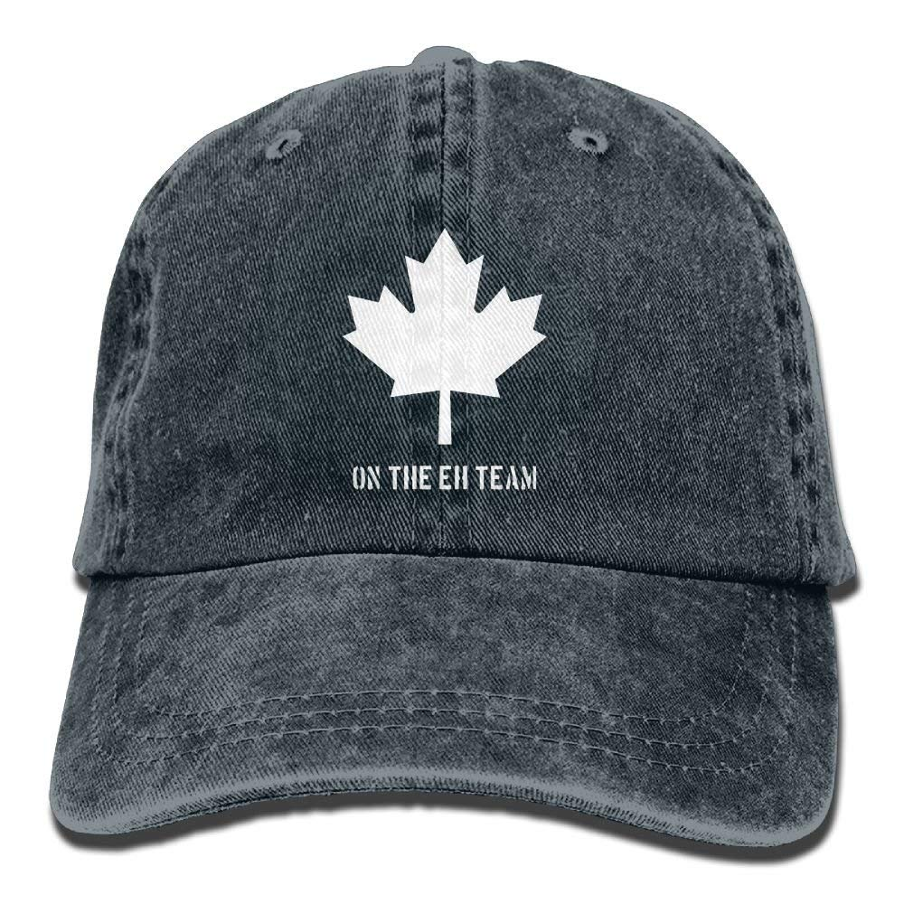 Nifdhkw Kanada auf dem Eh Team Adult Cowboy HAT Unisex27