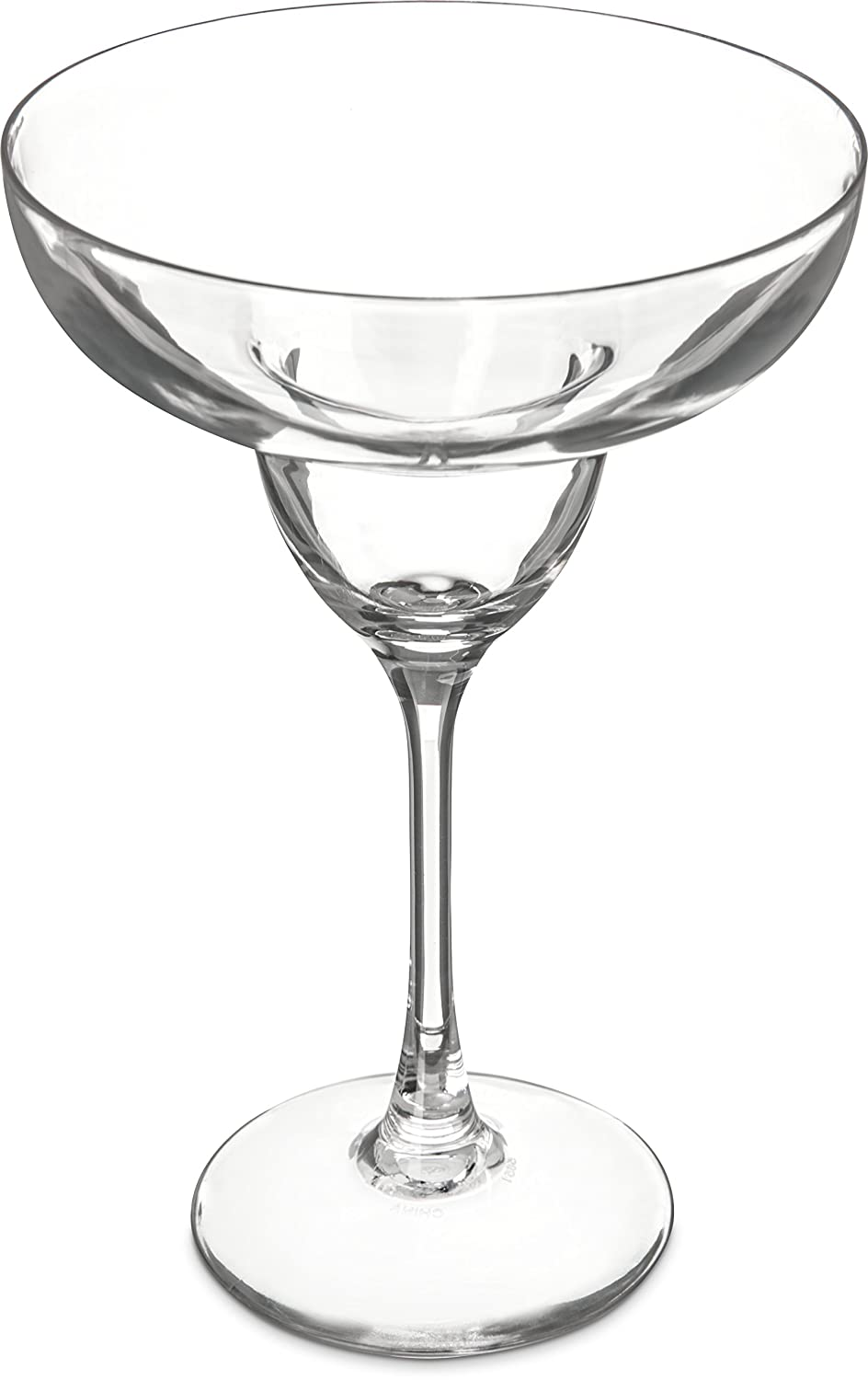Carlisle 565107 Shatter-Resistant Plastic Margarita Glass, 11 Ounce, Clear (Pack of 24)