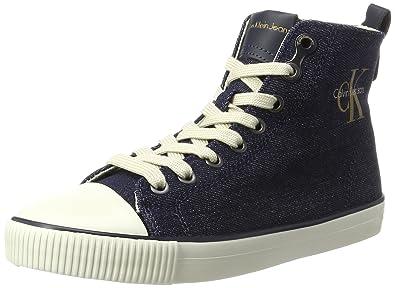 Womens Dorielle Metal Denim High Sneaker Calvin Klein Jeans 02GfQG0