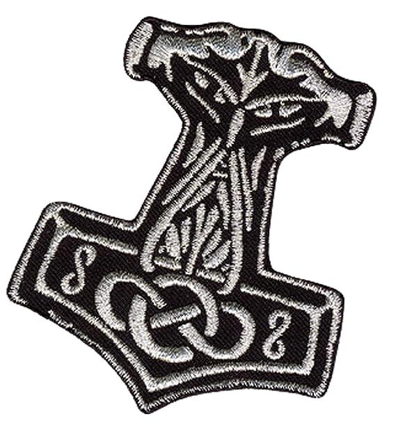Viking Metal Wotan Textil Aufn/äher