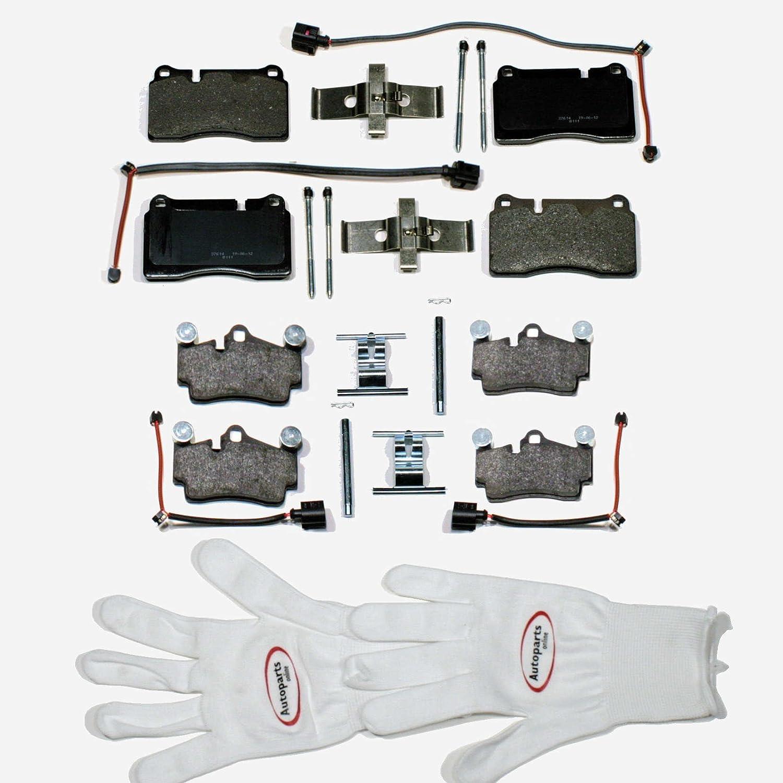 1KF Zubeh/örsatz f/ür Vorne Autoparts-Online Set 60005778 Bremsbel/äge 1LE Warnkabel Hinten