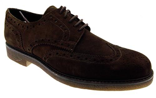 Pierfrancesco Neri - Zapatos de cordones para hombre marrón marrón marrón Size: 41 9rYHy