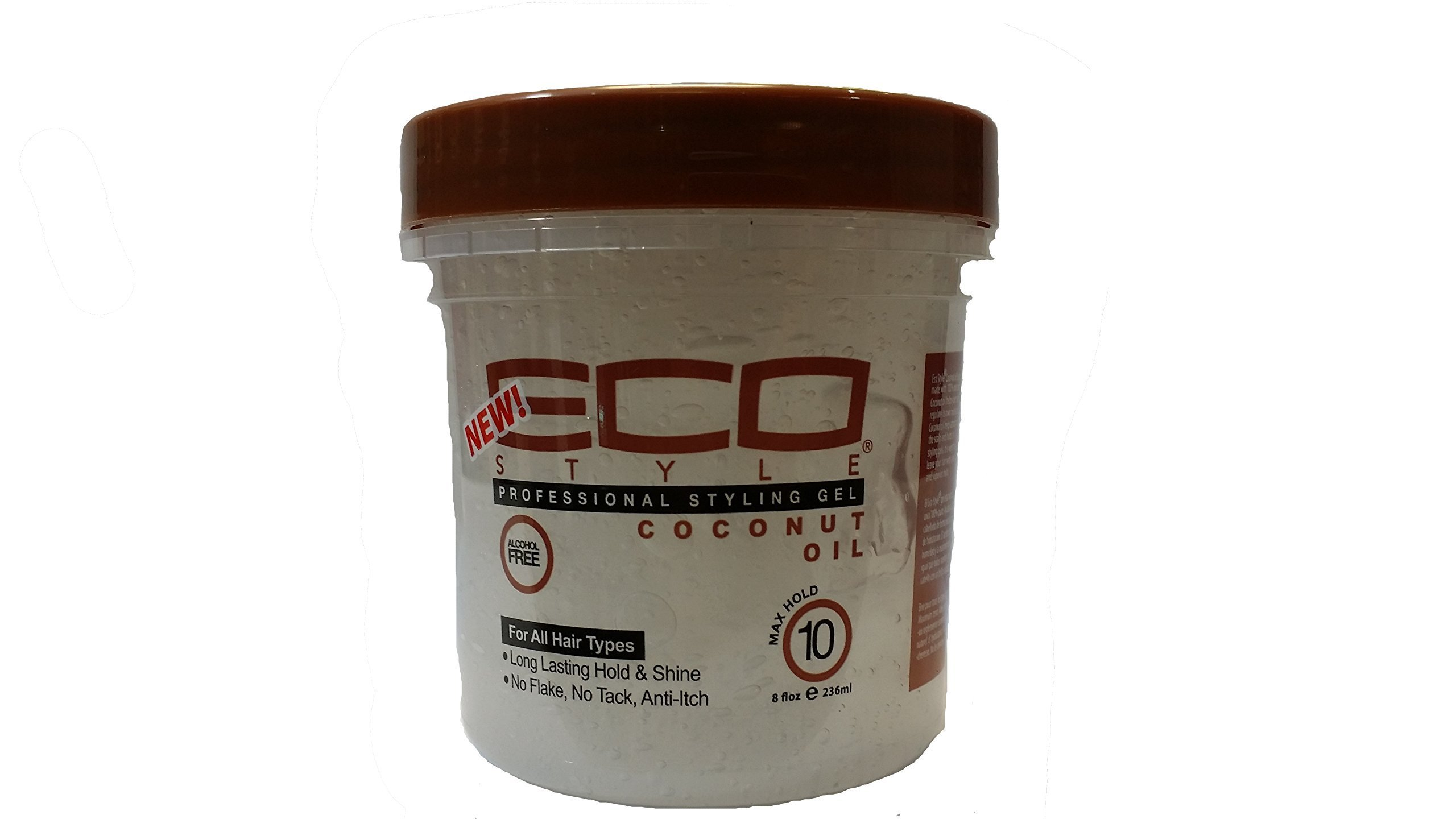 Eco Style Coconut Styling Gel, 8 Ounce