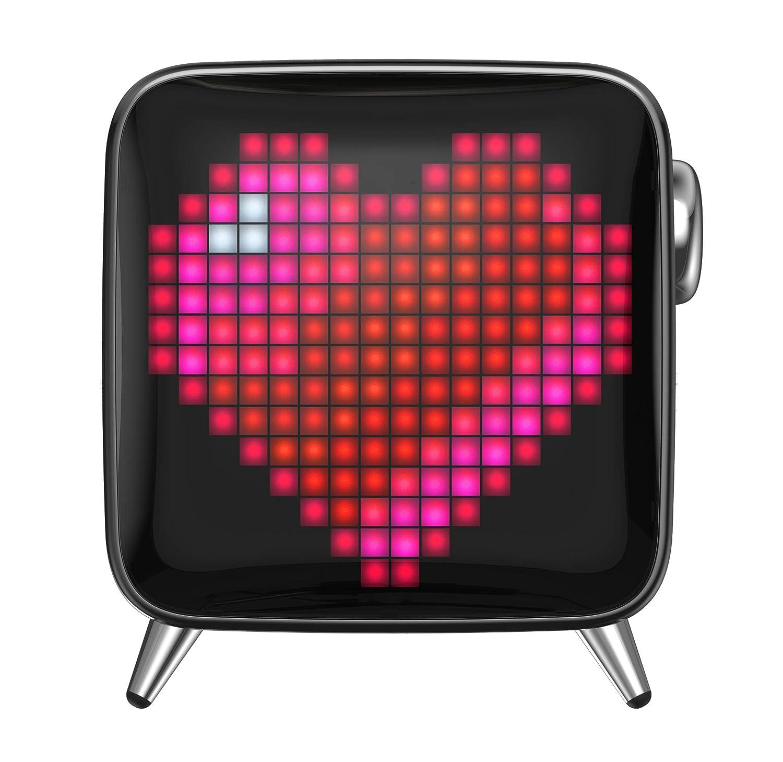 Divoom Tivoo MAX Pixel LED Art - Altavoz Bluetooth con Potencia de Salida de 40 W, batería integrada y aplicación Inteligente, Color Negro: Amazon.es: ...
