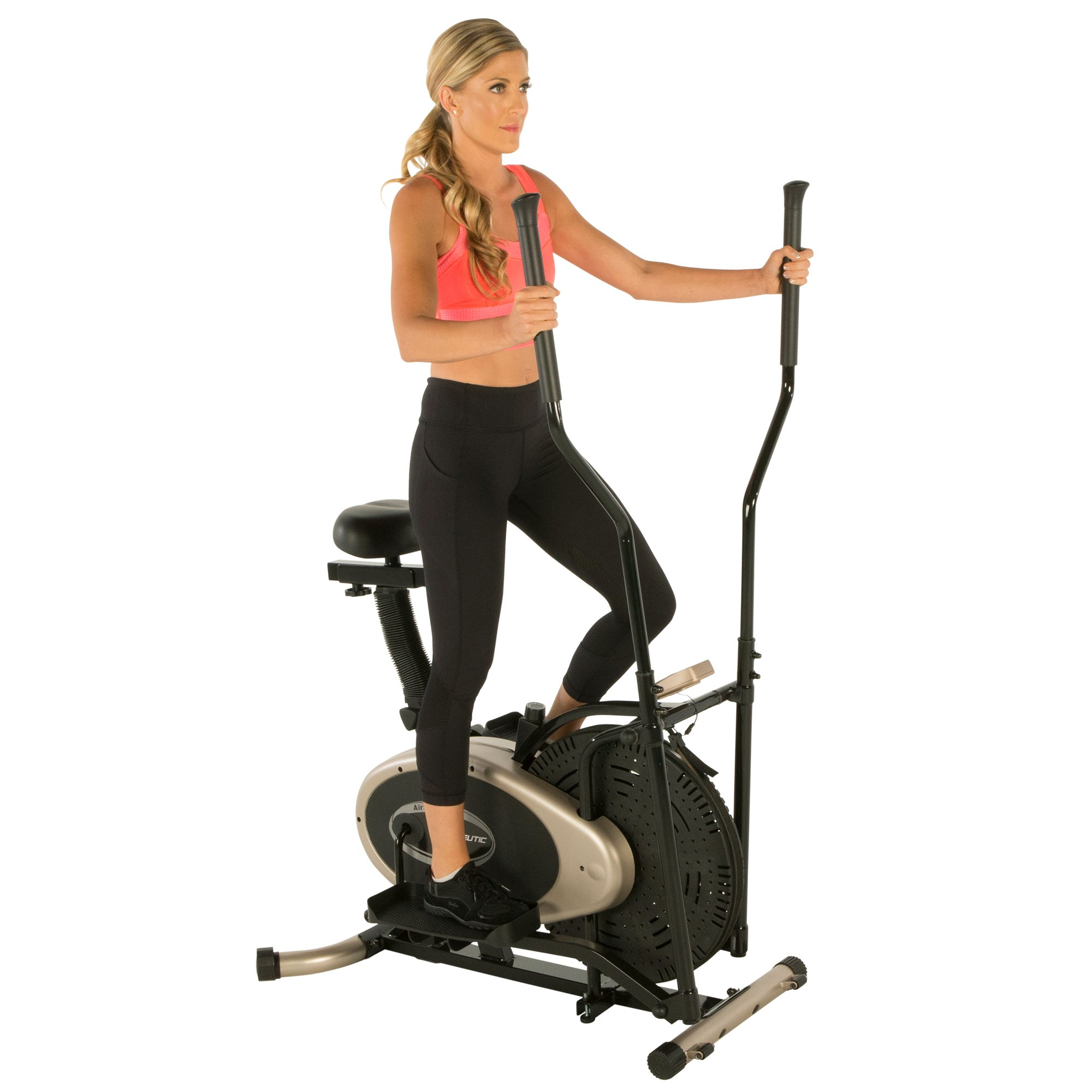 Exerpeutic Gold Elliptical and Exercise Bike Dual Trainer by Exerpeutic (Image #11)