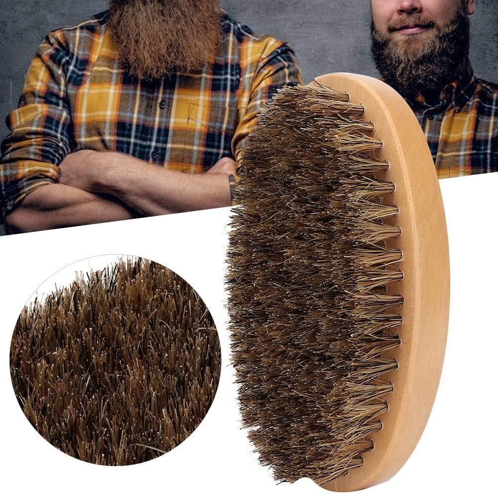 Cepillo de barba, cepillo de barba profesional para el cabello roto Peine de pelo Peine de peluquería para hombres Herramienta de aseo para el cuidado de la barba para viajes a casa Peluquería