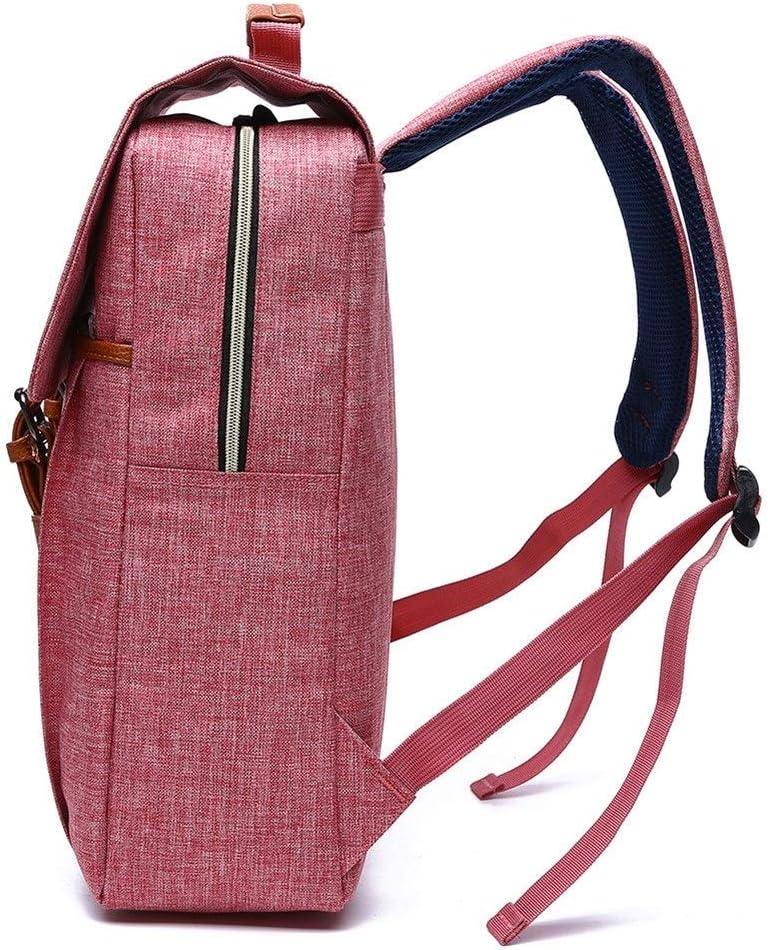 8Haowenju Large-Capacity Backpack, Male und Female Student Bag, Computer Backpack, Nylon