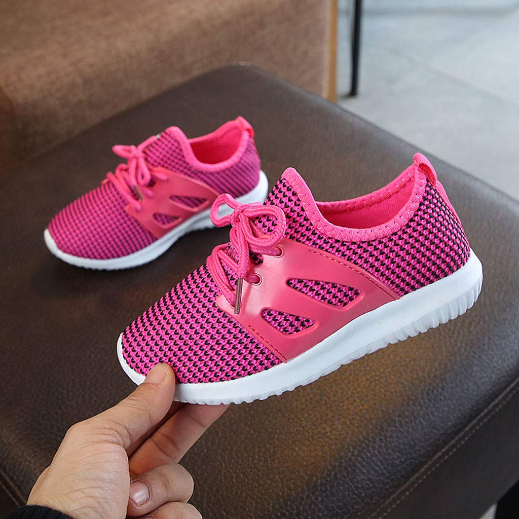 Children Boys Girl Casual Running Sneakers Non-Slip Shoe Suma-ma Toddler Babys Mesh Breathable Sports Shoes