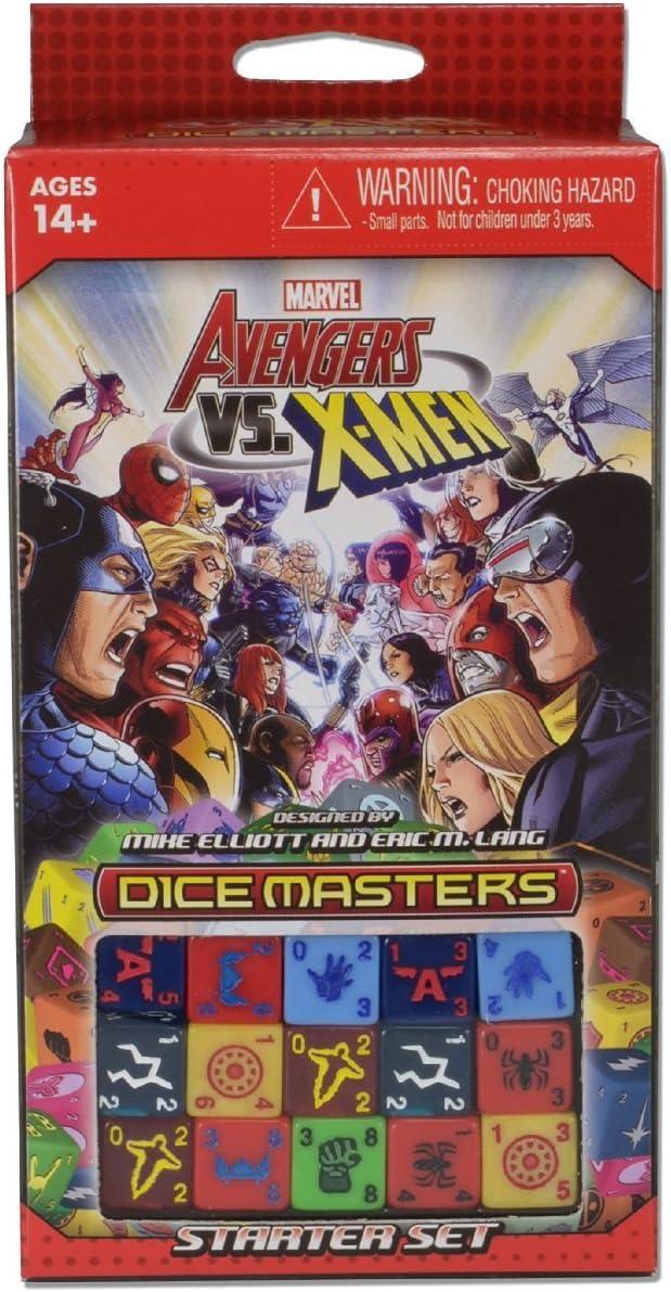 WizKids - Juego de Dados Los Vengadores Marvel X Men, para 2 Jugadores (WZK71298) (versión en inglés): Amazon.es: Juguetes y juegos