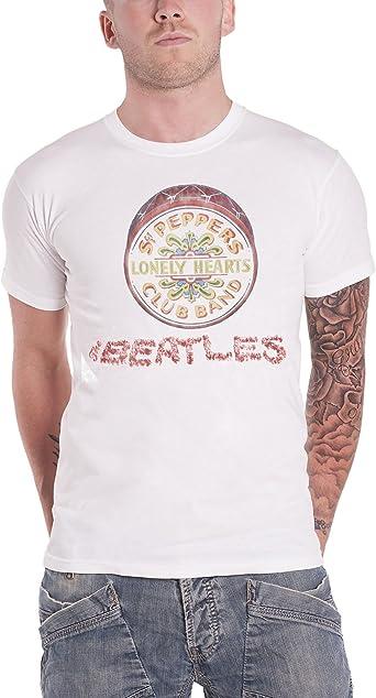 The Beatles /'Sgt Pepper Drum/' T-Shirt NEW /& OFFICIAL!