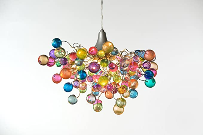 Chandelier Ceiling Lights Pastel bubbles for Childrens Room, Living ...