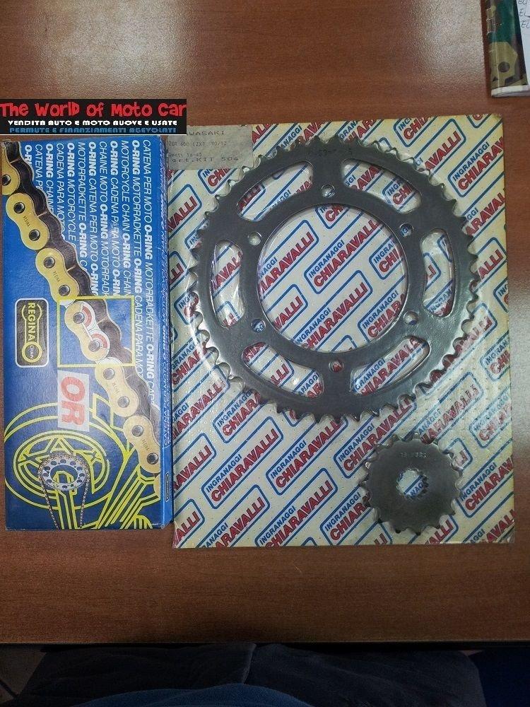 Catena O Ring Ox Ring.Kit X Ring 15 45 Chain 530 Rfos 114 Links Kawasaki Zzr 600 90 92