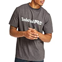 Timberland PRO Men's Base Plate Short Sleeve T-Shirt with Chest Logo