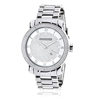 sale watches mens for grand diamond storm d master silver watch real ice time