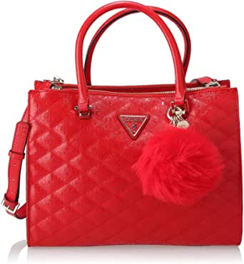 GUESS Astrid Status Satchel L Red