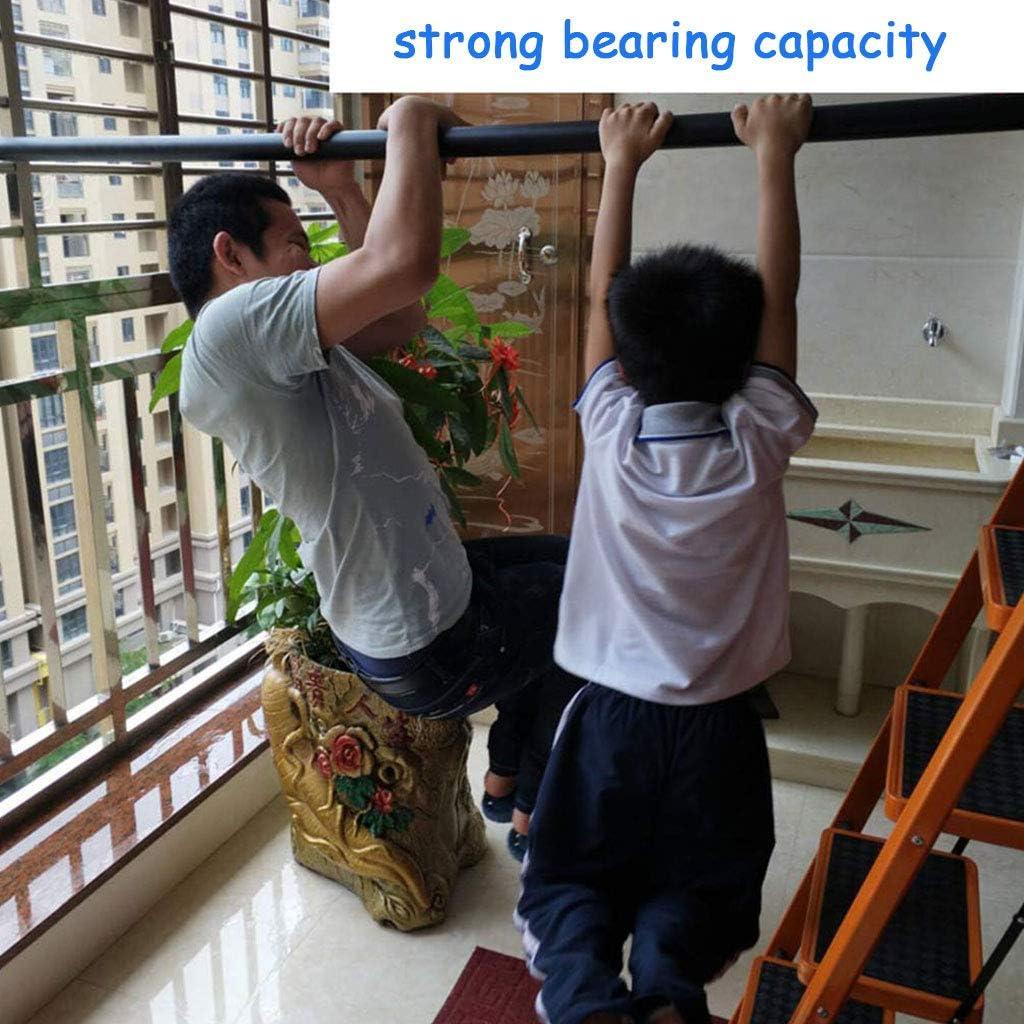 barandilla de Seguridad montada en la 30-600 cm barandilla Antideslizante para escaleras OUG- Barandilla de Hierro Forjado Negro Poste de Apoyo para el Pasillo de ni/ños Mayores de Pared a Pared