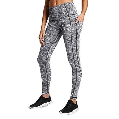 Sbra Mujeres Cintura Alta Corriendo Pantalones de Yoga ...