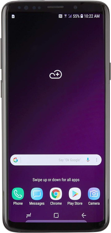 Samsung Galaxy S9+, 64GB, Midnight Black - For Verizon (Renewed)